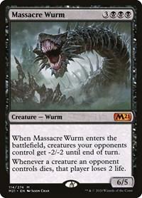 Massacre Wurm, Magic: The Gathering, Core Set 2021