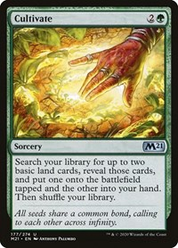 Cultivate, Magic: The Gathering, Core Set 2021