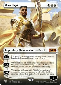 Basri Ket (Borderless), Magic: The Gathering, Core Set 2021