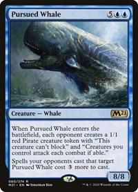 Pursued Whale, Magic: The Gathering, Core Set 2021