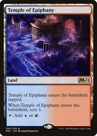 Temple of Epiphany, Magic: The Gathering, Core Set 2021
