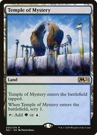 Temple of Mystery, Magic, Core Set 2021