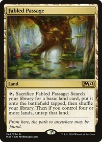 Fabled Passage, Magic, Core Set 2021