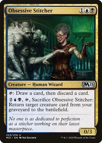 Obsessive Stitcher, Magic, Core Set 2021