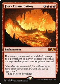 Fiery Emancipation (Foil)
