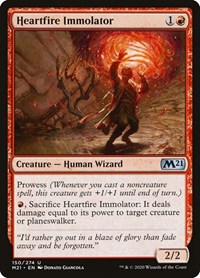 Heartfire Immolator, Magic, Core Set 2021