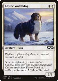 Alpine Watchdog, Magic: The Gathering, Core Set 2021