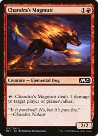 Chandra's Magmutt, Magic: The Gathering, Core Set 2021