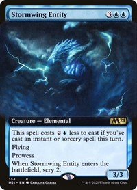 Stormwing Entity (Extended Art) (Foil)