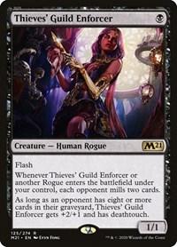 Thieves' Guild Enforcer, Magic, Core Set 2021