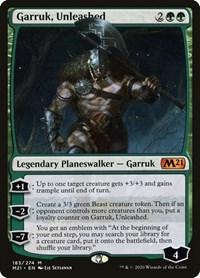 Garruk, Unleashed, Magic: The Gathering, Core Set 2021