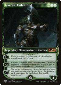 Garruk, Unleashed (Showcase), Magic: The Gathering, Core Set 2021