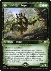 Garruk's Harbinger (Showcase), Magic: The Gathering, Core Set 2021