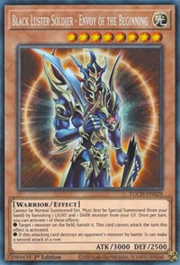 Black Luster Soldier - Envoy of the Beginning (CR), YuGiOh, Toon Chaos