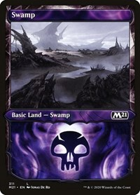Swamp (Showcase), Magic: The Gathering, Core Set 2021