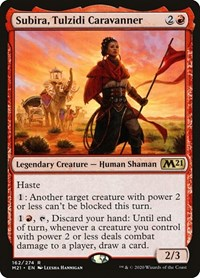 Subira, Tulzidi Caravanner, Magic, Core Set 2021