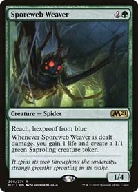 Sporeweb Weaver, Magic: The Gathering, Core Set 2021
