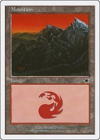 Mountain (169), Magic: The Gathering, Starter 1999