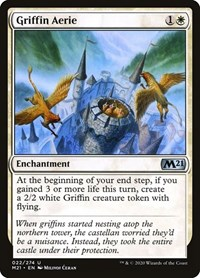 Griffin Aerie, Magic: The Gathering, Core Set 2021