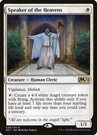 Speaker of the Heavens, Magic: The Gathering, Core Set 2021
