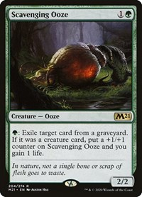 Scavenging Ooze, Magic: The Gathering, Core Set 2021