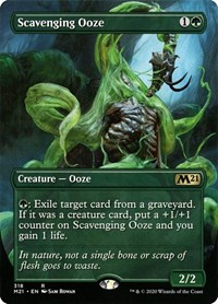 Scavenging Ooze (Alternate Art), Magic, Core Set 2021