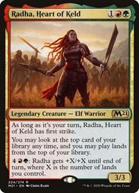 Radha, Heart of Keld, Magic: The Gathering, Core Set 2021