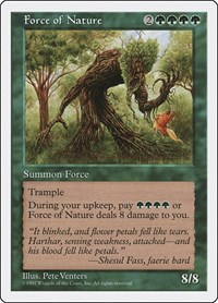 Force of Nature, Magic: The Gathering, Fifth Edition