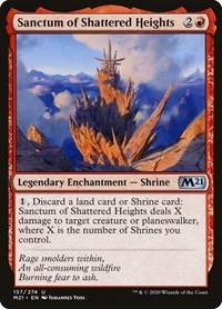 Sanctum of Shattered Heights, Magic: The Gathering, Core Set 2021