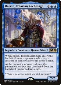 Barrin, Tolarian Archmage, Magic: The Gathering, Core Set 2021