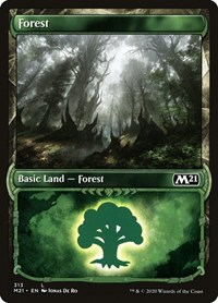 Forest (Showcase), Magic: The Gathering, Core Set 2021