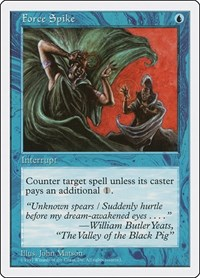 Force Spike, Magic: The Gathering, Fifth Edition