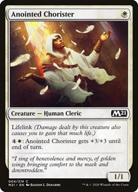 Anointed Chorister, Magic: The Gathering, Core Set 2021