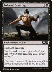 Infernal Scarring, Magic: The Gathering, Core Set 2021