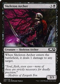 Skeleton Archer, Magic: The Gathering, Core Set 2021