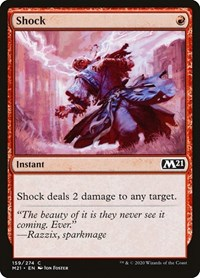 Shock, Magic: The Gathering, Core Set 2021
