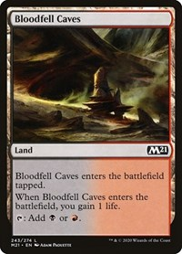 Bloodfell Caves, Magic: The Gathering, Core Set 2021