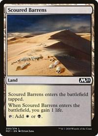 Scoured Barrens, Magic: The Gathering, Core Set 2021