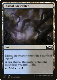 Dismal Backwater, Magic: The Gathering, Core Set 2021