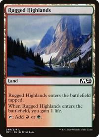 Rugged Highlands, Magic: The Gathering, Core Set 2021