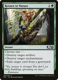 Return to Nature, Magic, Core Set 2021