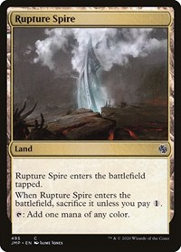 Rupture Spire, Magic: The Gathering, Jumpstart