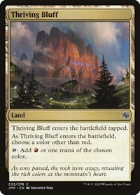 Thriving Bluff, Magic, Jumpstart