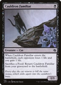 Cauldron Familiar, Magic: The Gathering, Jumpstart