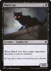 Black Cat, Magic: The Gathering, Jumpstart
