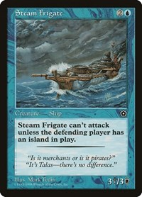 Steam Frigate, Magic: The Gathering, Portal Second Age