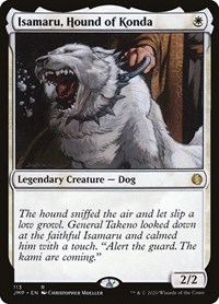 Isamaru, Hound of Konda, Magic, Jumpstart