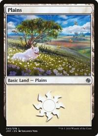 Plains (45), Magic: The Gathering, Jumpstart