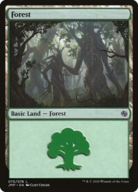 Forest, Magic: The Gathering, Jumpstart