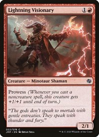 Lightning Visionary, Magic: The Gathering, Jumpstart